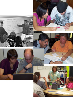 ... one-on-one tutoring by trained volunteers. Why both? These adults need ...
